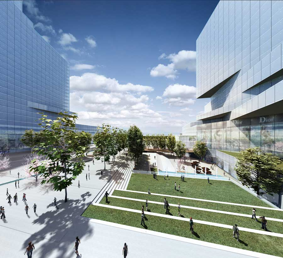 Suzhou new district commercial plaza china building e for New building design