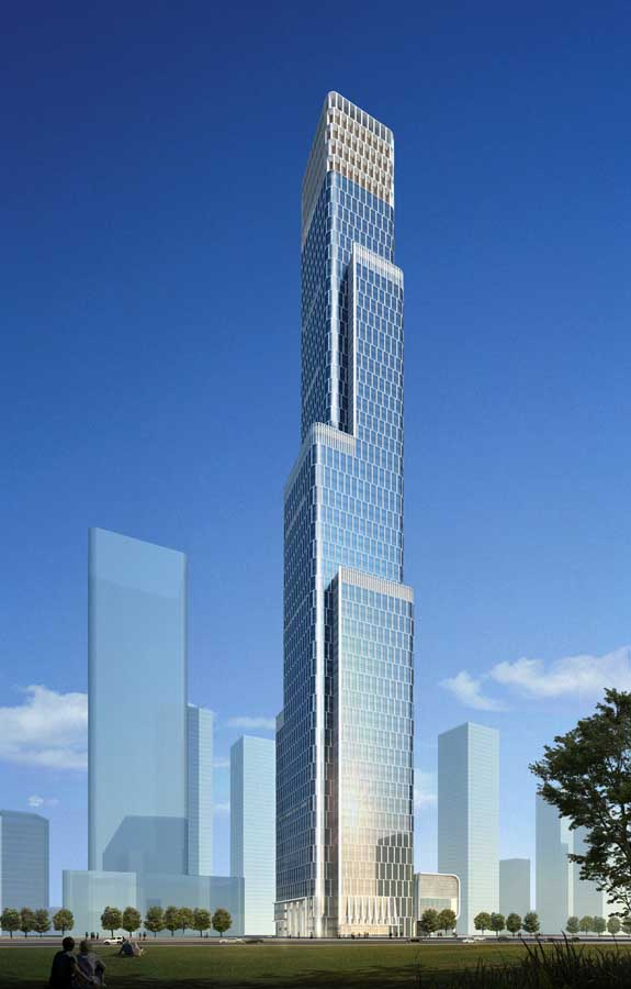 Tianjin R Amp F Guangdong Tower Skyscraper Building E Architect