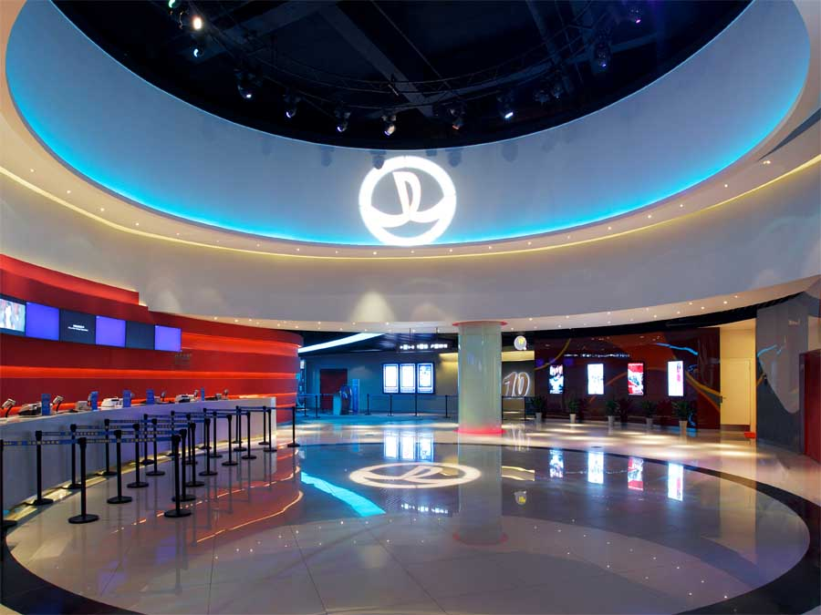Wanda cinemas luoyang nanjing china e architect for Architecture and design home theater
