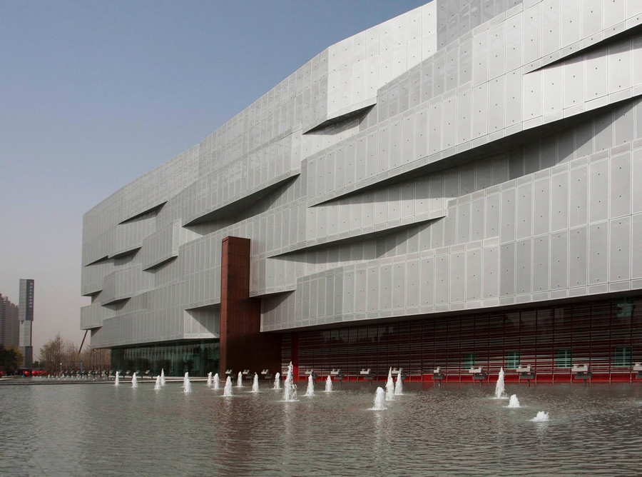 Yingkou China  city pictures gallery : Yingkou Plaza Bayuquan Poly Theatre China