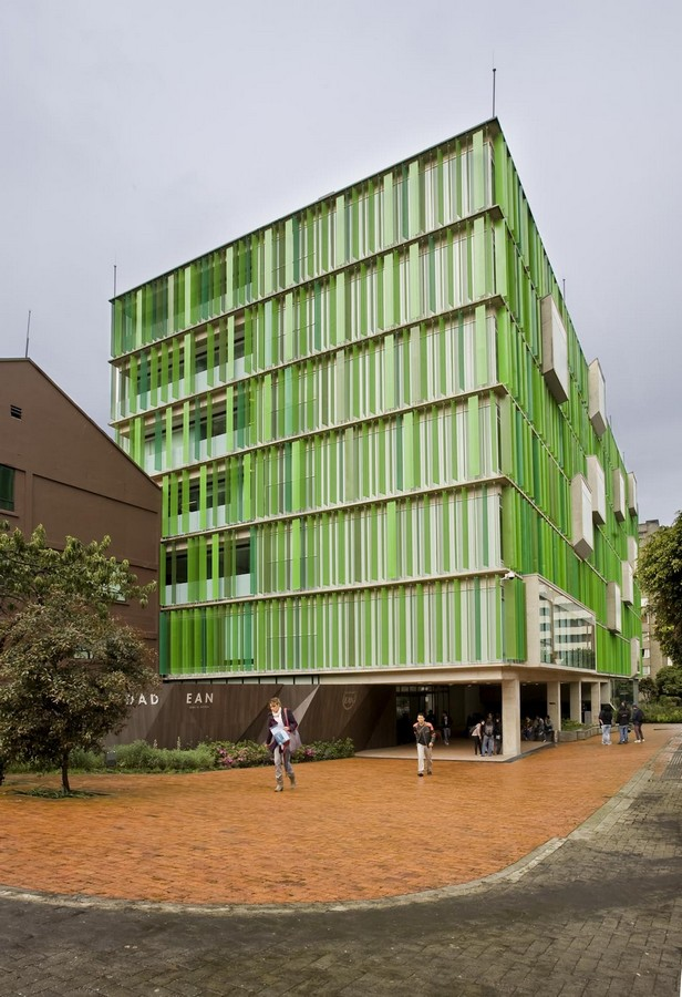 Universidad ean colombian university e architect for Escuela arquitectura