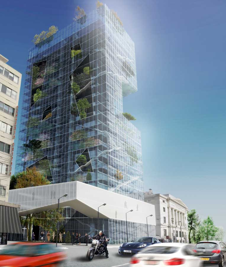 Piraeus Tower Competition Greek Architecture Competition