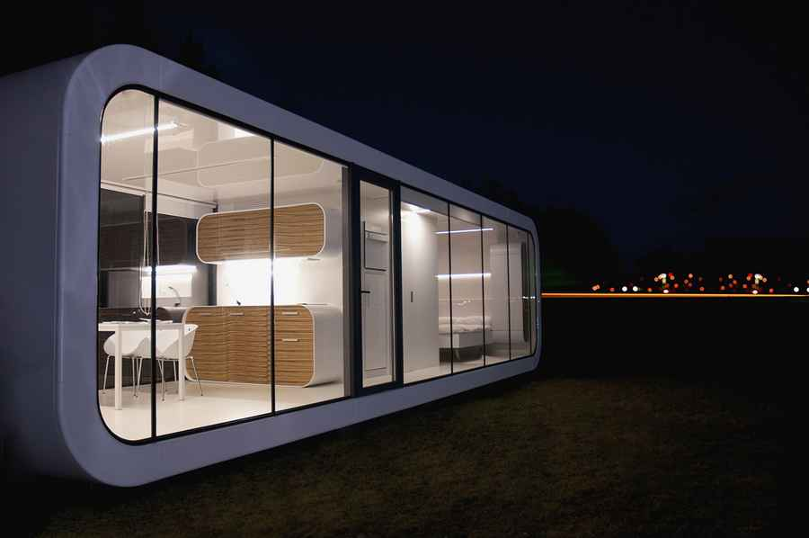 Coodo Modular Units Prefabricated Residence Design E