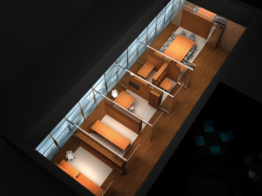 Office for living workplace concept e architect for Living office concept