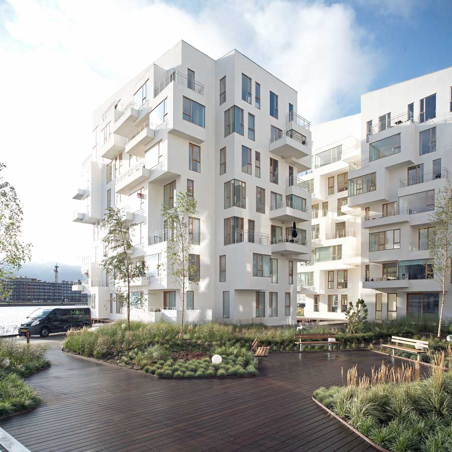 Harbour isle apartments copenhagen waterfront flats e for Architectural design of residential building