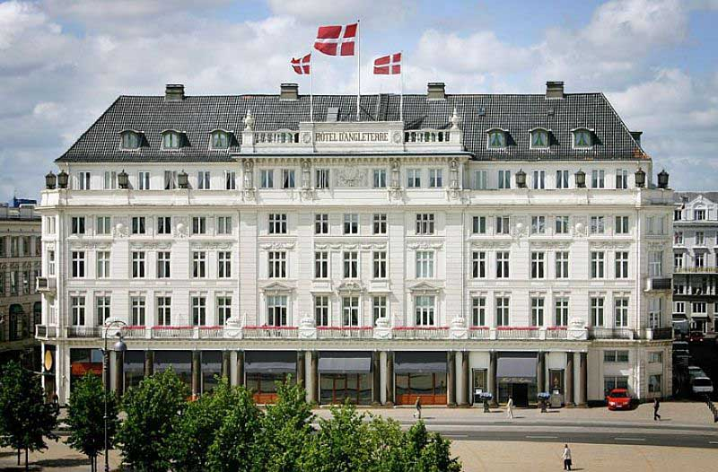 Hotel d 39 angleterre kongens nytorv copenhagen e architect for Top design hotels copenhagen