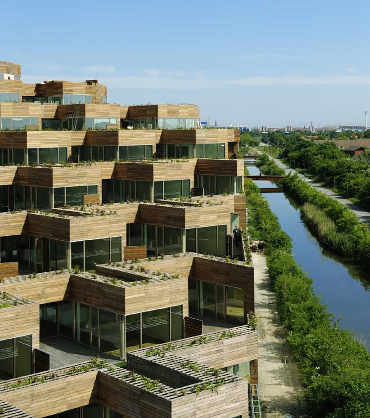 Vm mountain dwellings big copenhagen danish housing e for Big architecte