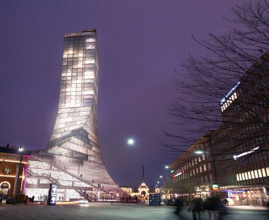 Scala Tower / Copenhagen / Denmark / Bjarke Ingels Group (BIG)
