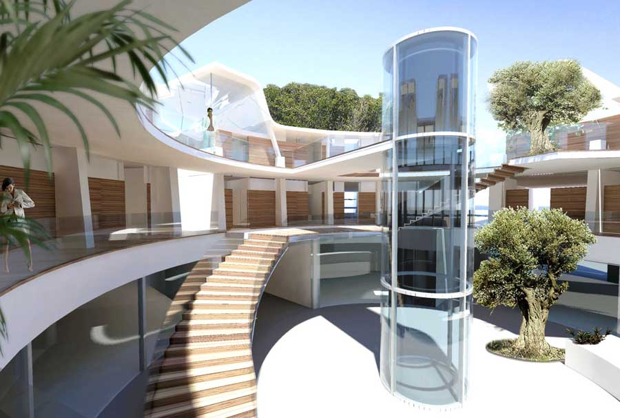 solta island resort rotating hotel croatia e architect