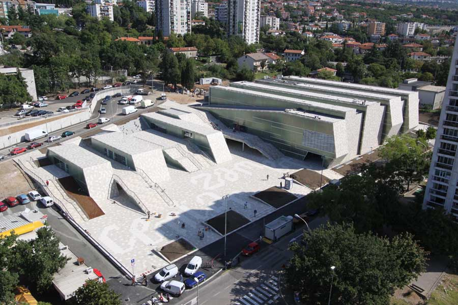 Zamet sports center rijeka building croatia e architect for Architecture ecologique