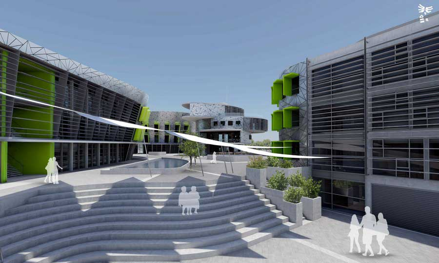university of cyprus campus nicosia design bm3 architecture