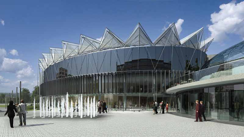 Zlin Congress Centre Czech Library Building E Architect