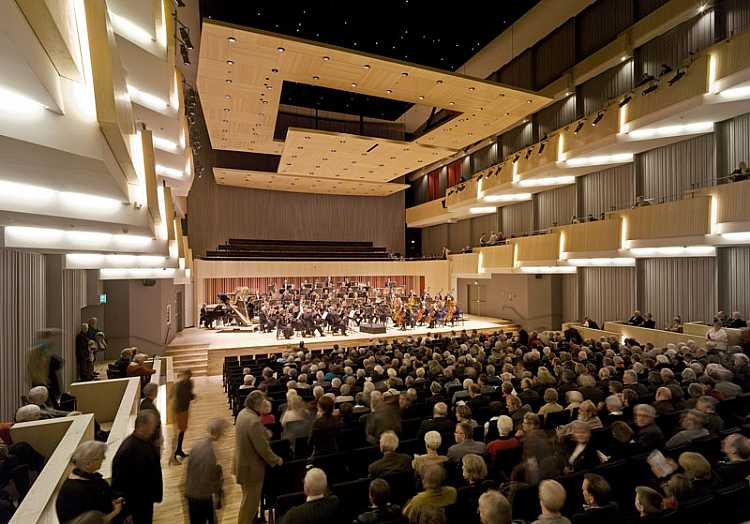 Concert hall buildings architecture e architect for Hall design images