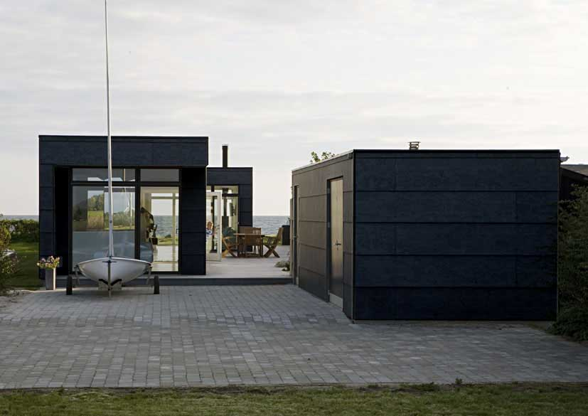 danish summer house new home in denmark e architect. Black Bedroom Furniture Sets. Home Design Ideas