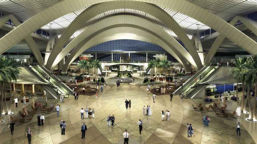 Abu dhabi international airport uae e architect for Hispano international decor abu dhabi