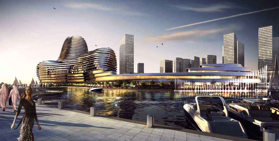 Al Raha Beach Abu Dhabi World Trade Center E Architect