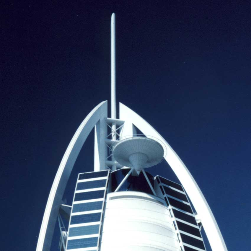 Burj al arab tower dubai uae hotel building e architect for The sail hotel dubai