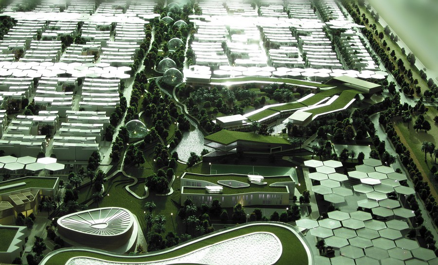 Architecture Design Unit Dubai dubai sustainable city - masterplan design - e-architect