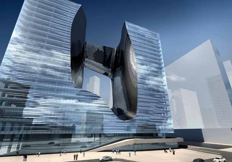 The opus dubai zaha hadid building e architect for Architecture zaha hadid