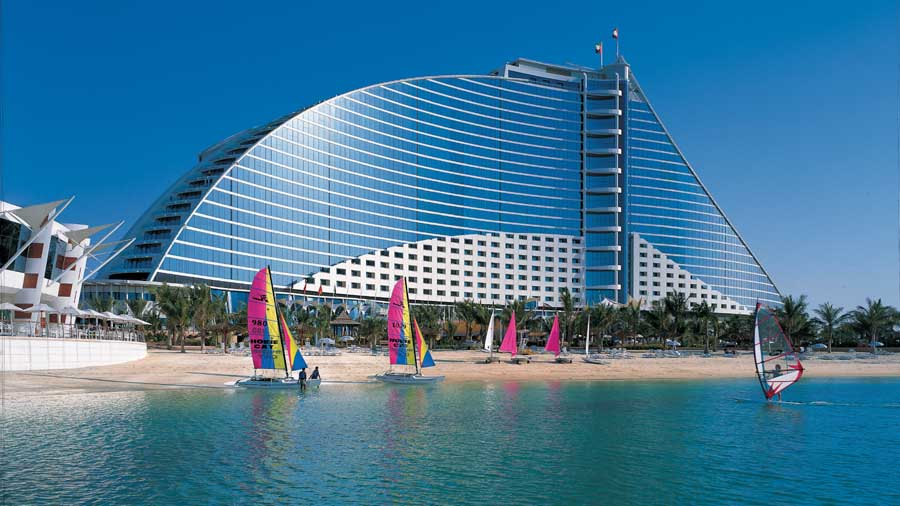 jumeirah beach hotel dubai resort e architect