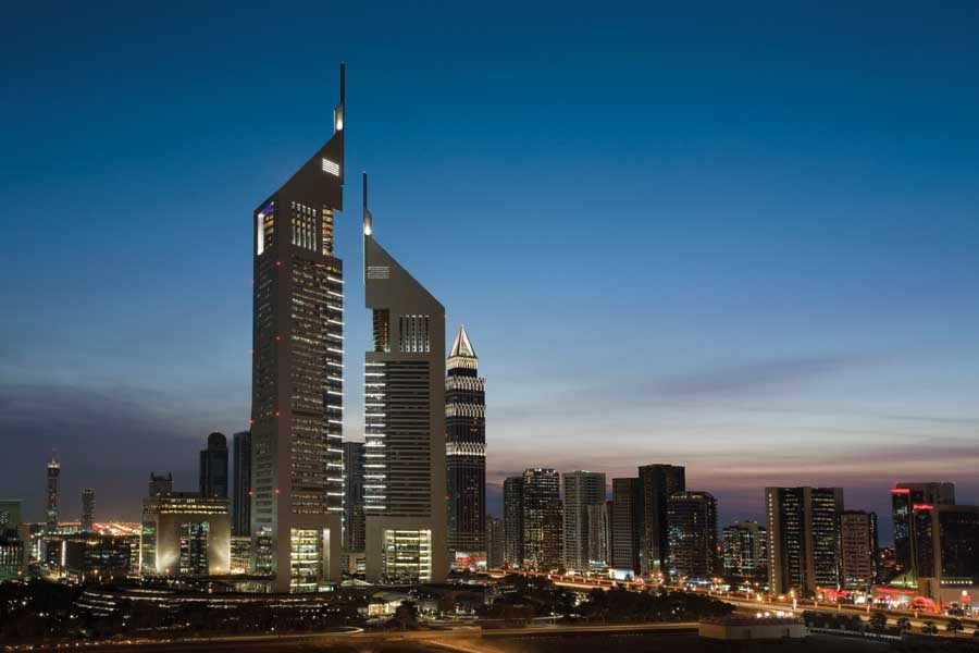 Dubai buildings uae architecture e architect for Emirates hotel dubai