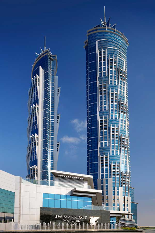 World 39 s tallest hotel buildings e architect for Tallest hotel in the world