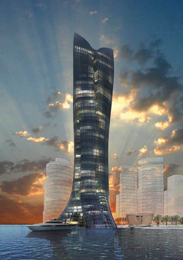 Michael schumacher tower abu dhabi building e architect for Home of architecture uae