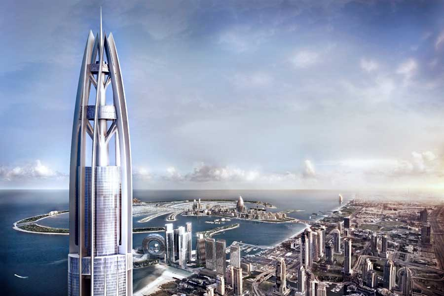 Nakheel Harbour & Tower Dubai - Woods Bagot UAE - e-architect