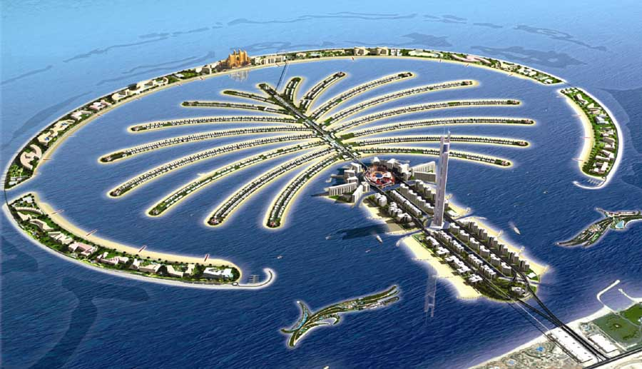 Palm Jumeirah Dubai Images From Architect
