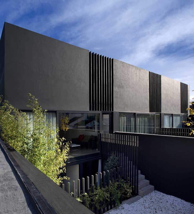 Dublin mews house new home e architect for Archi facade