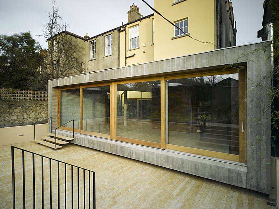 New property designs residential properties e architect for Modern irish house architecture