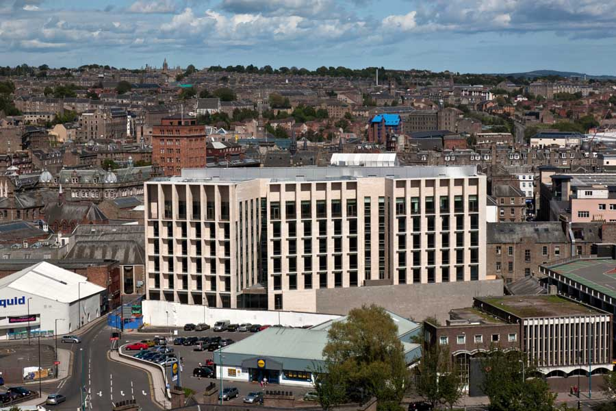 Dundee City Council Offices Hq E Architect
