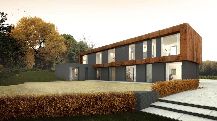 New Oxfordshire House Picture From Architects