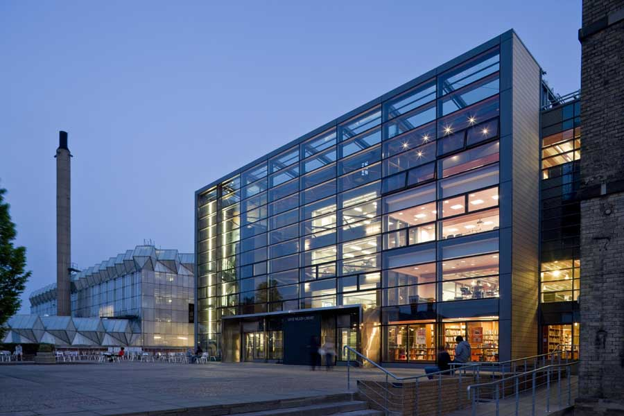 David Wilson Library University Of Leicester Building E Architect