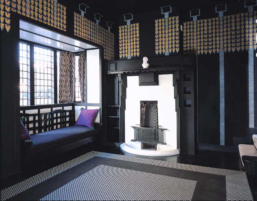 78 derngate rennie mackintosh northampton e architect for Designer room glasgow