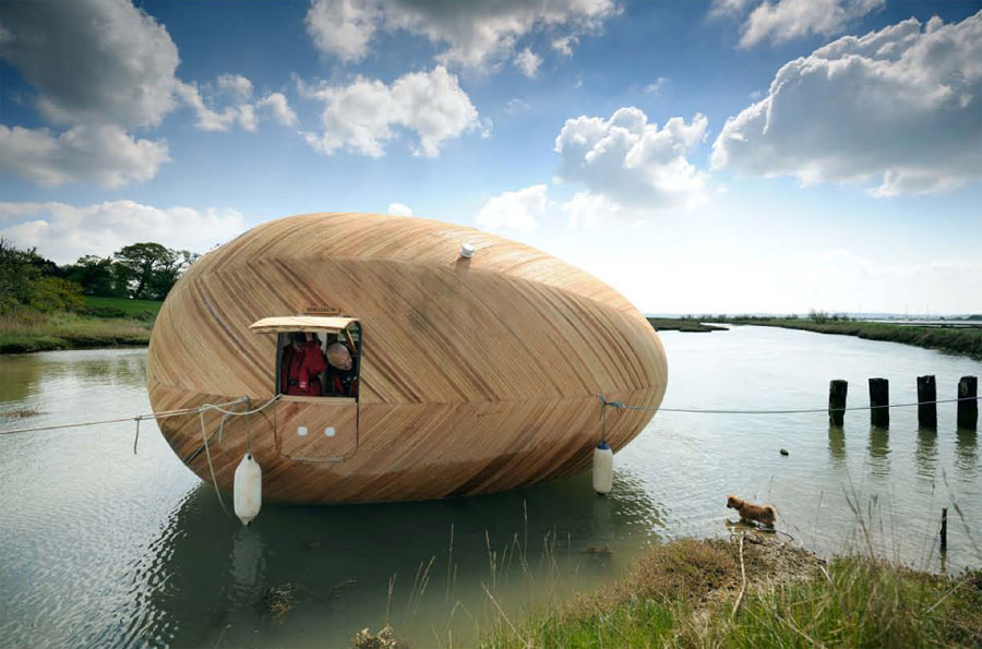 Floating New Forest Home