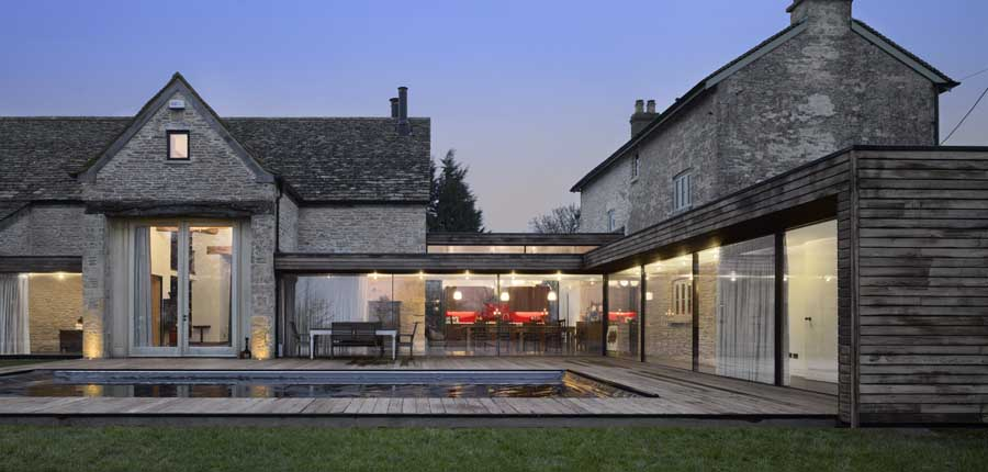 Furzey hall farm building gloucestershire architecture for Farmhouse architects