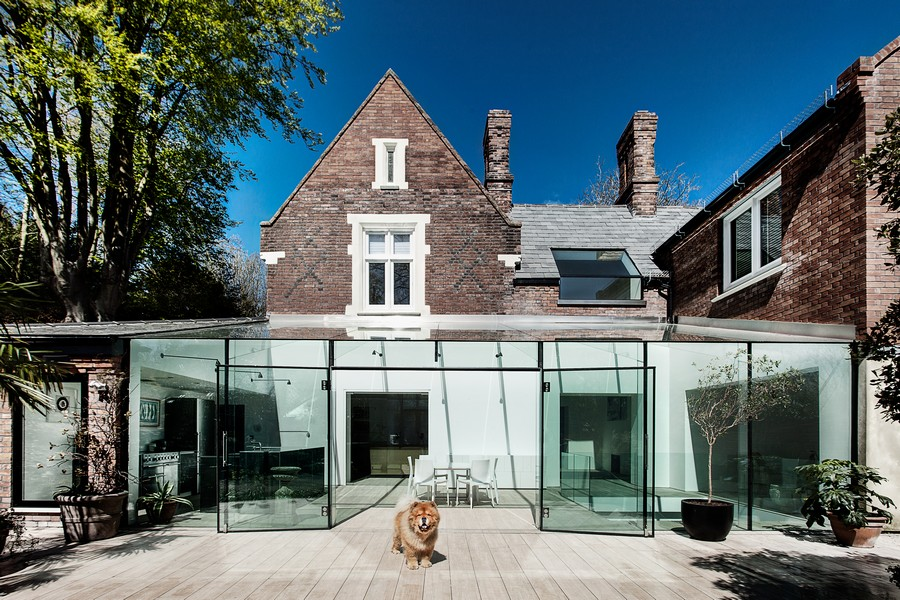 Glass House Winchester Residence - e-architect