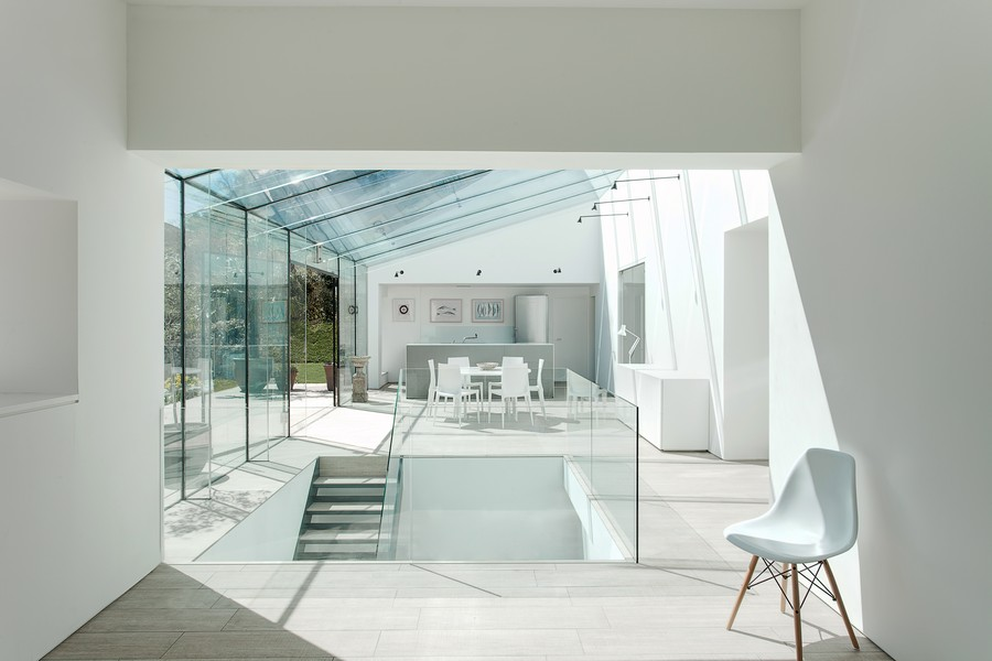 Glass House Winchester Residence E Architect