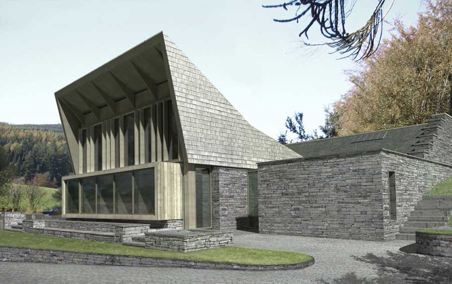 Grizedale Resource Centre/Sutherland Hussey Architects