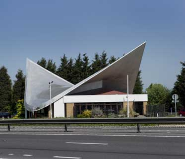 Markham Moor petrol station canopy & English Petrol Station Designs 1960s Canopies England - e-architect