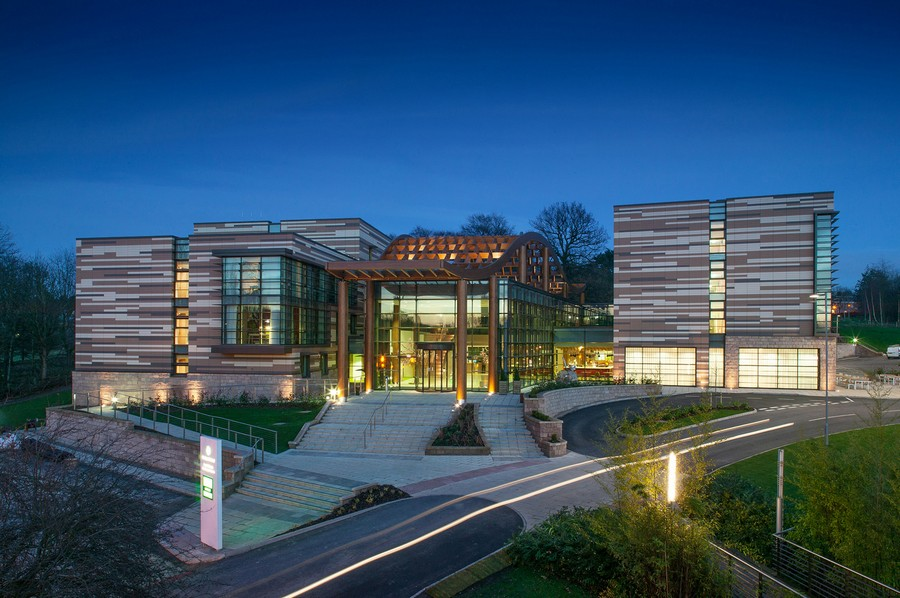 Eco Hotel University Of Nottingham E Architect