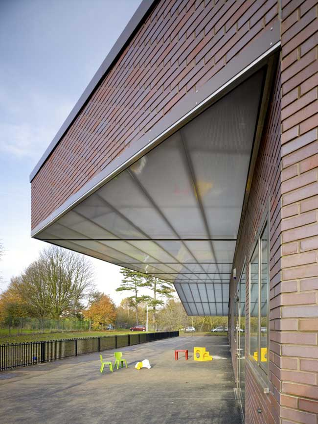 Pond Meadow Special Needs School Building By Dsdha E