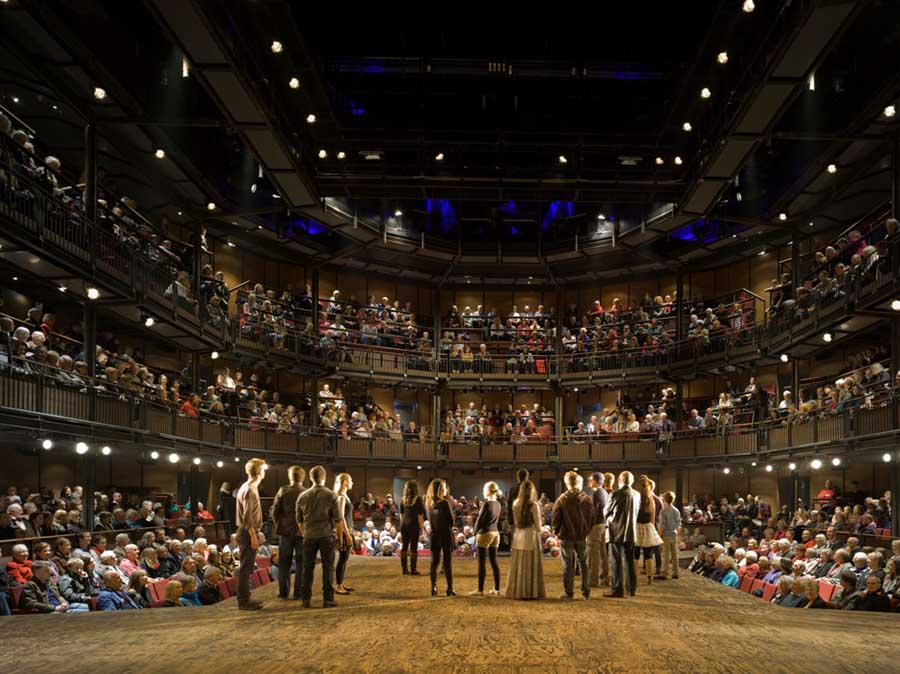an introduction to the audience of the shakespearean theater In less than two weeks, britain's theatres, galleries and museums will undergo   but with those introducing shakespeare to younger audiences.