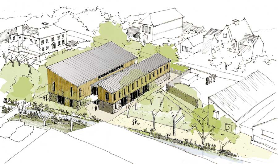 Architecture School Building sherborne school music building, architect, dorset - e-architect