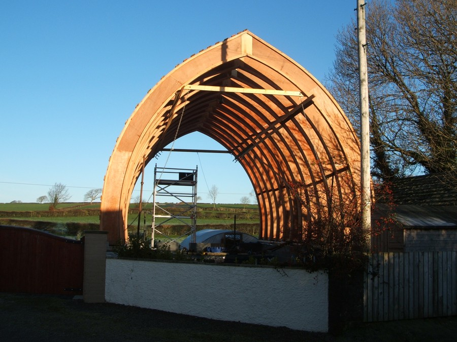 Cost To Build A House >> Straw Bale House, Cumbria, England - e-architect
