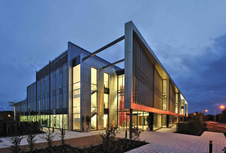 Stryker office newbury healthcare company offices for Home architecture newbury