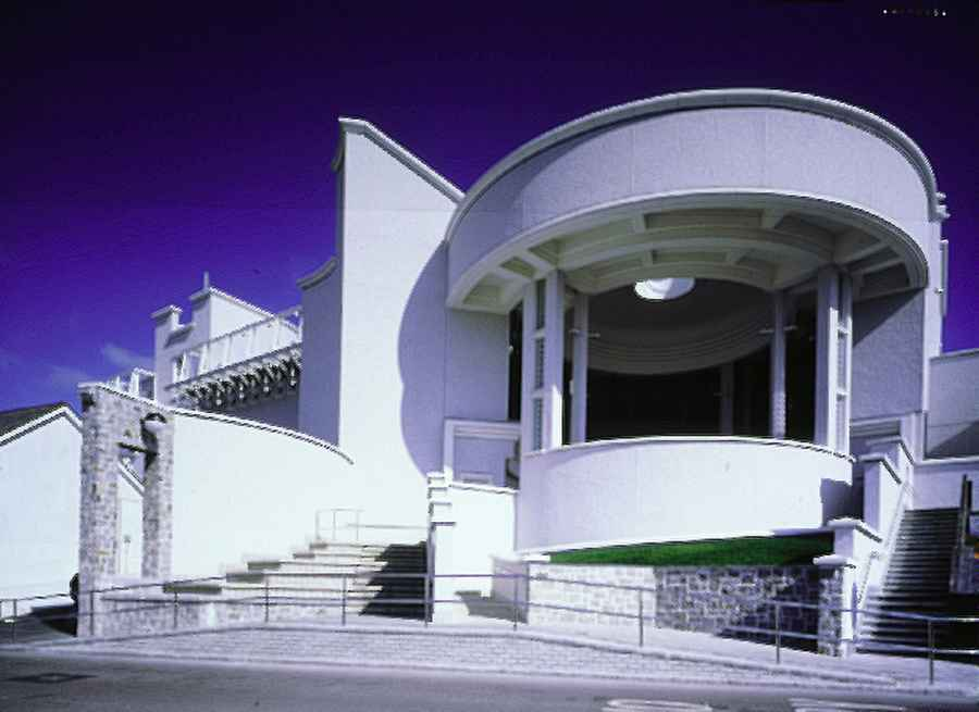 Tate St Ives Building Architects Cornwall England E