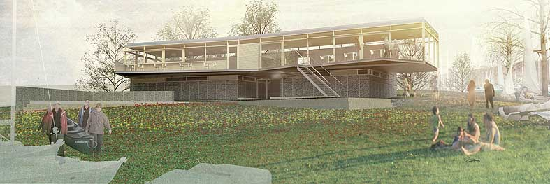 Windermere steamboat museum competition e architect for Clubhouse architecture design