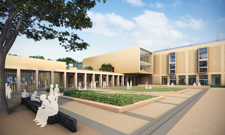 Uppingham school rutland building science block sports for Architecture and design